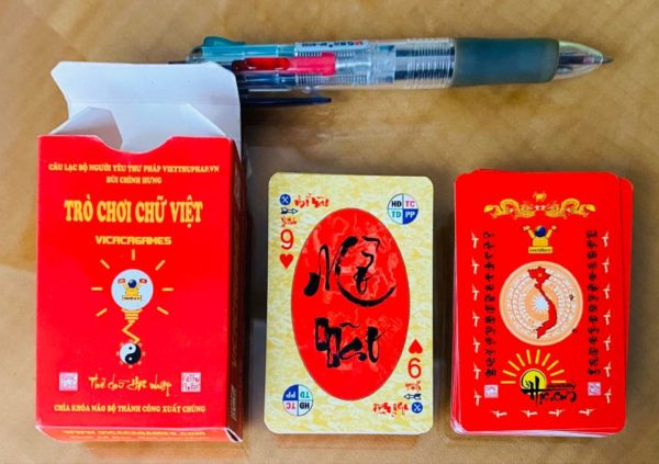Thẻ chữ Thư pháp Việt bỏ túi