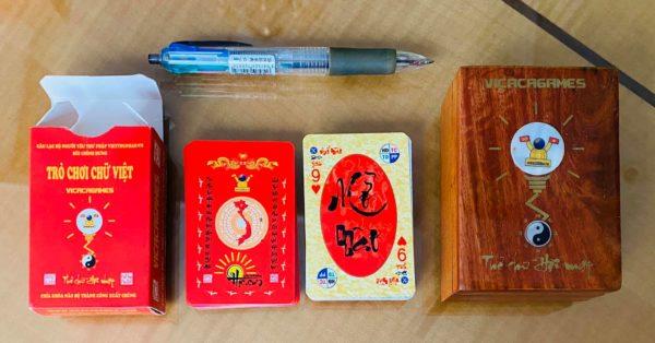 Bộ Thẻ chữ Việt Quản lý